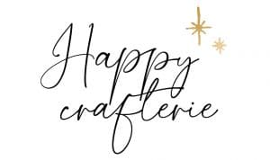 Le logo du site Happy crafterie.